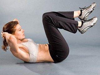 плоский живот упражнения